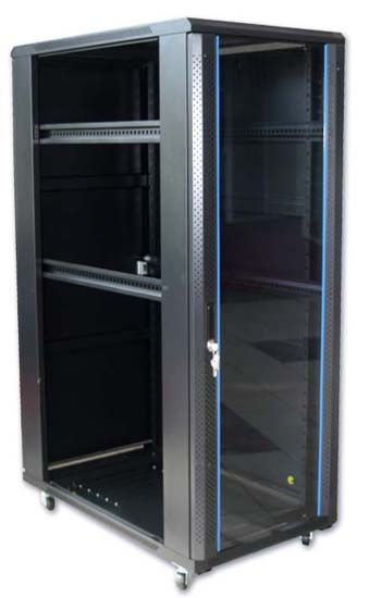 network rack is a pure metal rack protect computer or hardware devices